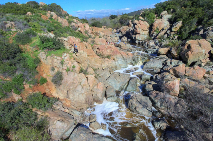 Los Penasquitos Waterfall