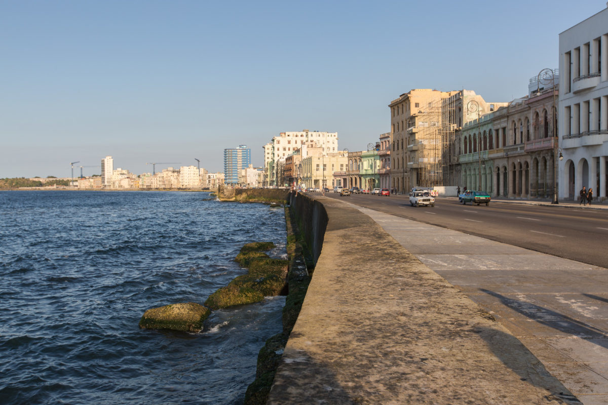 Malecon Sea Wall